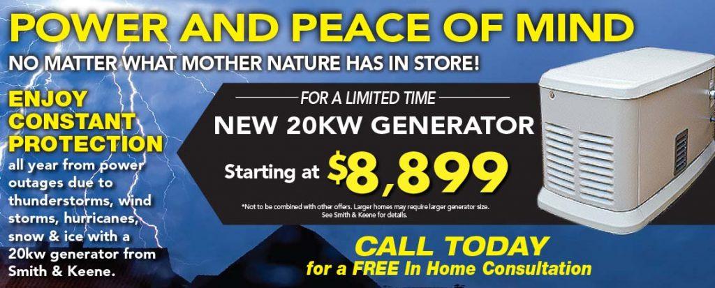 New 20KW Generator