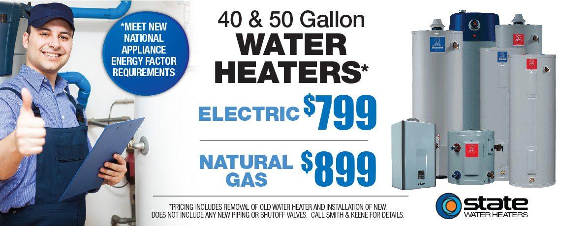 Smith & Keene Banner Water Heater