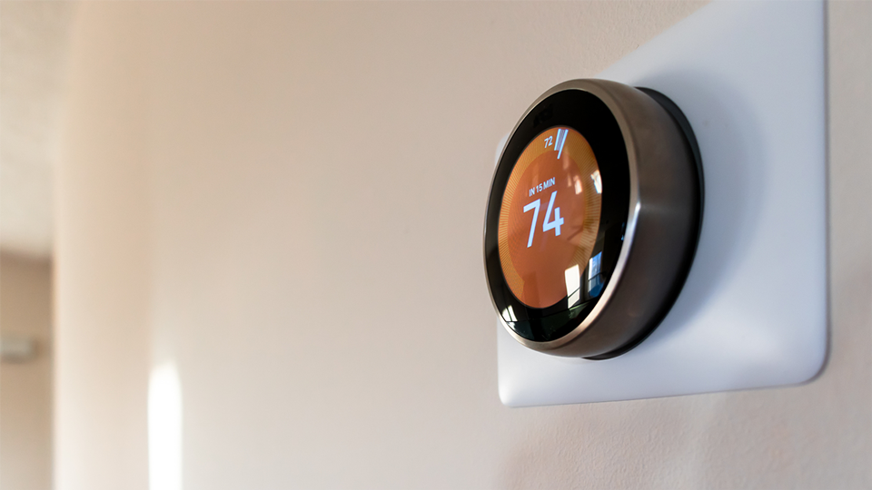 New home thermostat